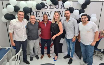 Visita ilustre do Marcelinho Carioca na Sede da CheckMat Parts